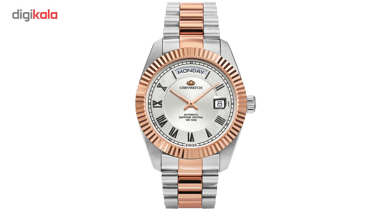 خرید ساعت مچی عقربه ای مردانه کوین واچ مدل C109RWH