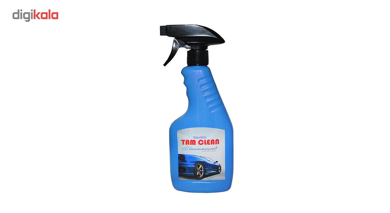 اسپری نانو واکس فوری بدنه ی خودرو تام کلین مدل TC-480blsw حجم 480 میلی لیتر