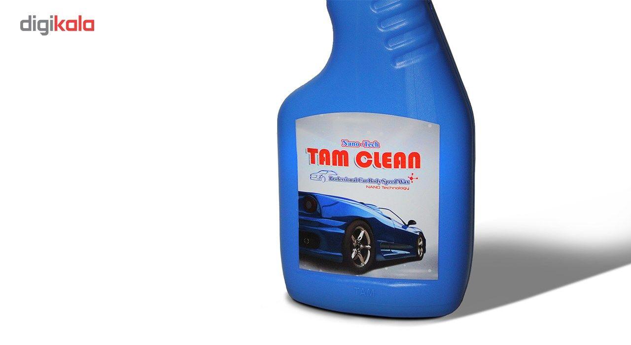 اسپری نانو واکس فوری بدنه ی خودرو تام کلین مدل TC-480blsw حجم 480 میلی لیتر main 1 3