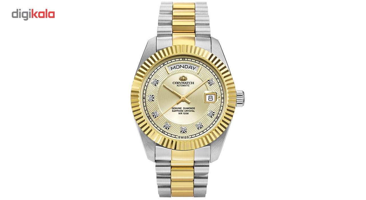 خرید ساعت مچی عقربه ای مردانه کوین واچ مدل C109TWH