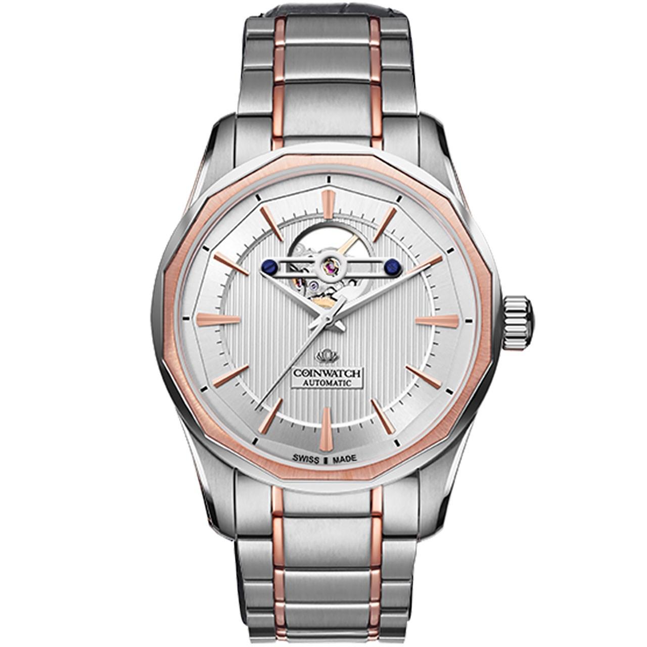 ساعت مچی عقربه ای مردانه کوین واچ مدل C142RWH
