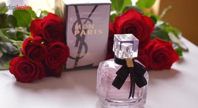 ادو پرفیوم زنانه ایو سن لوران مدل Mon Paris حجم 90 میلی لیتر