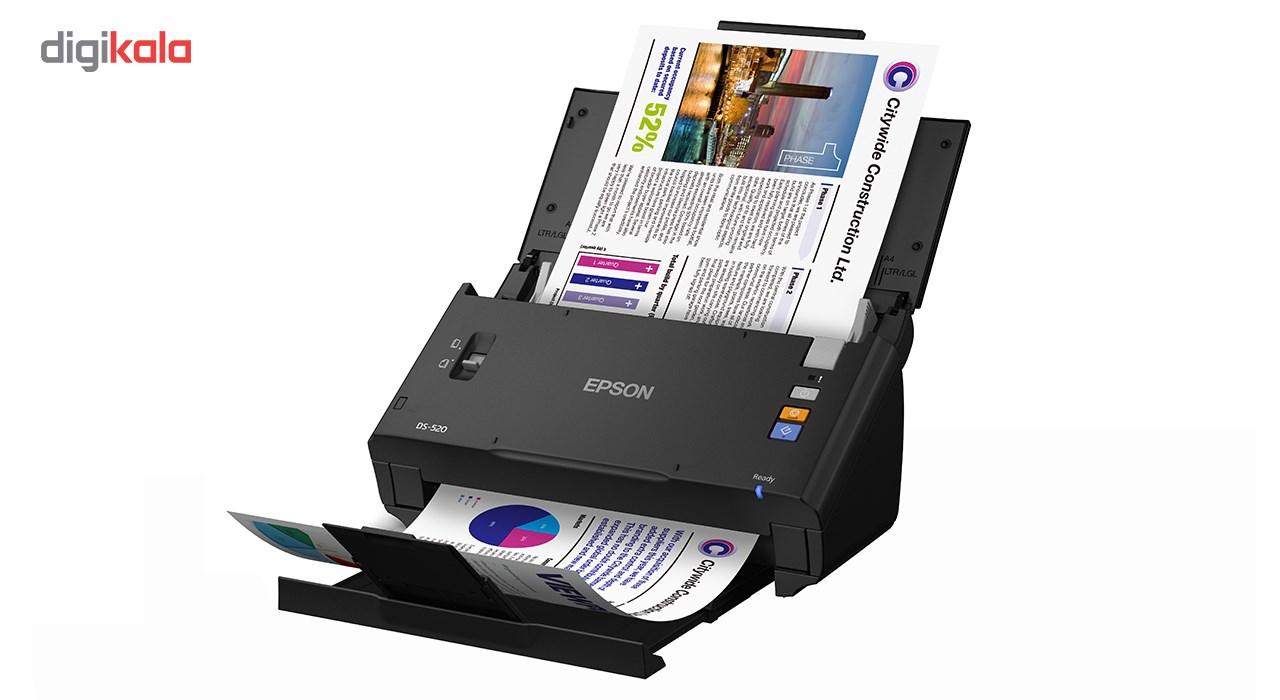 قیمت                      اسکنر اسناد اپسون مدل WorkForce DS-520