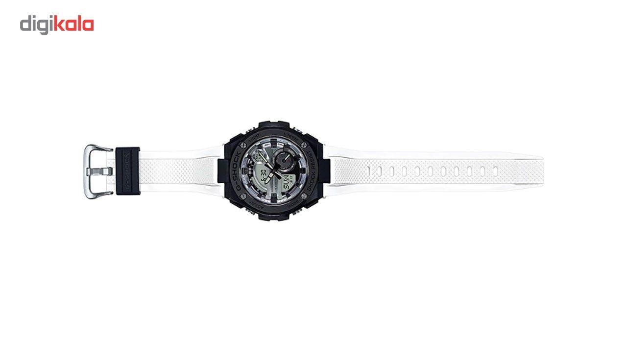 ساعت مچی عقربه ای مردانه کاسیو جی شاک مدل GST-210B-7ADR -  - 2