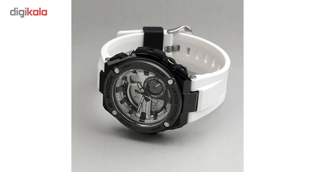 ساعت مچی عقربه ای مردانه کاسیو جی شاک مدل GST-210B-7ADR -  - 3
