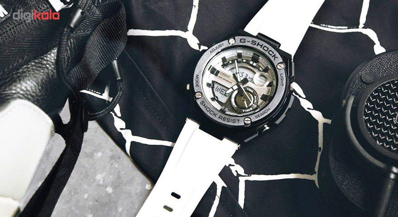 ساعت مچی عقربه ای مردانه کاسیو جی شاک مدل GST-210B-7ADR -  - 6