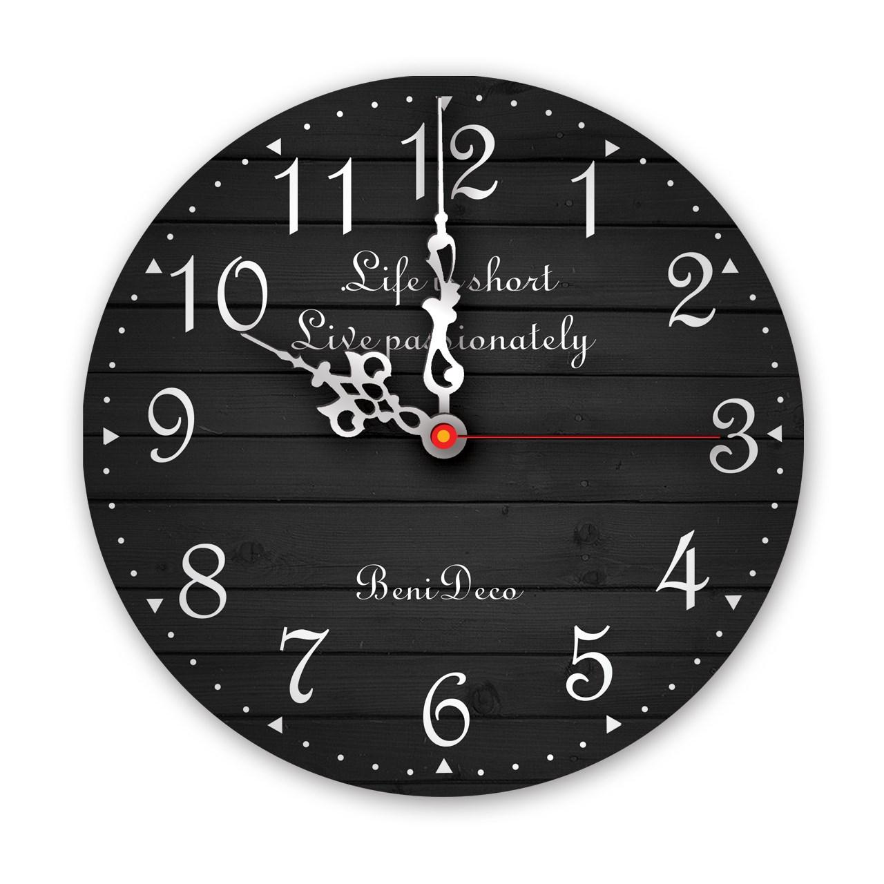 ساعت دیواری بنی دکو مدل CLF03 سایز 40*40