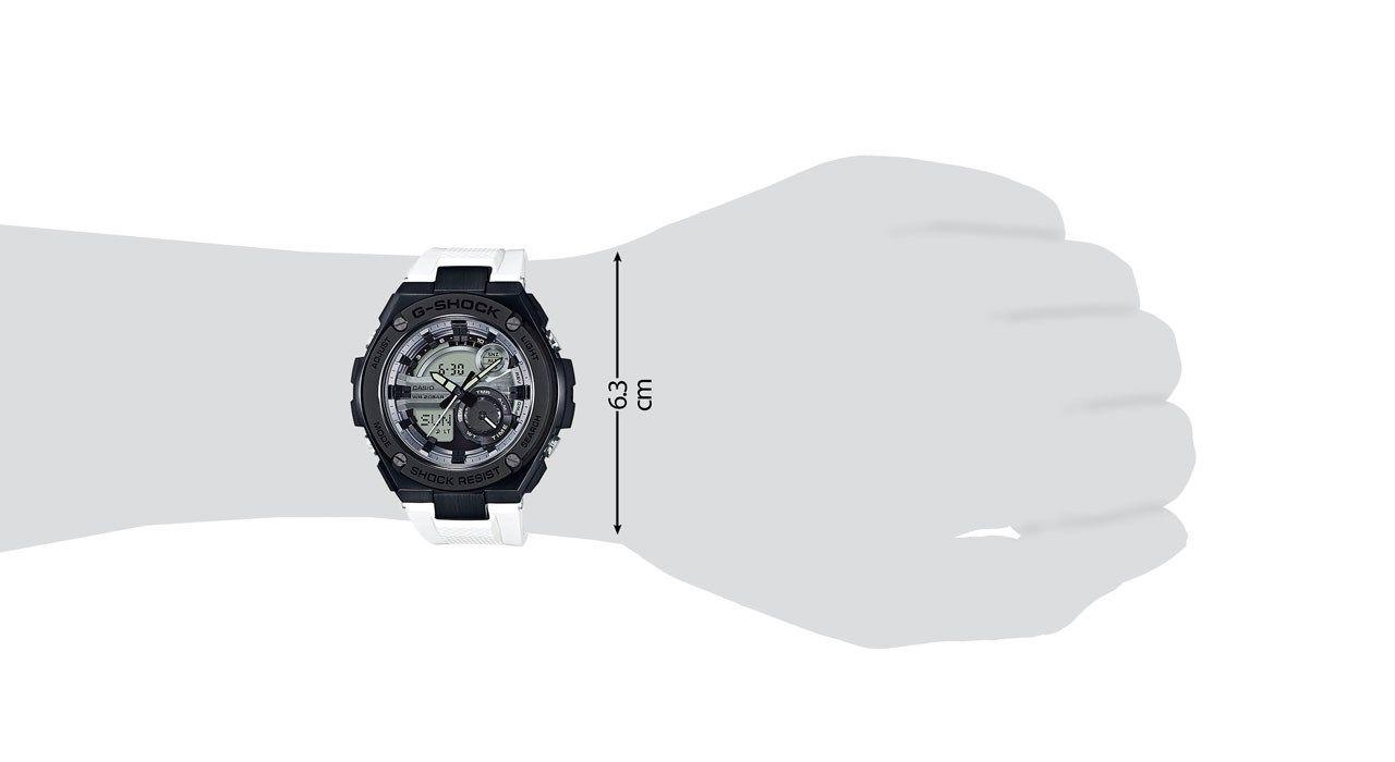ساعت مچی عقربه ای مردانه کاسیو جی شاک مدل GST-210B-7ADR -  - 4