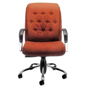 صندلی اداری نیلپر مدل SM902e چرمی