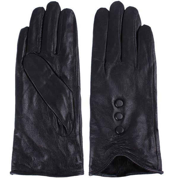 دستکش زنانه چرم واته مدل BL95