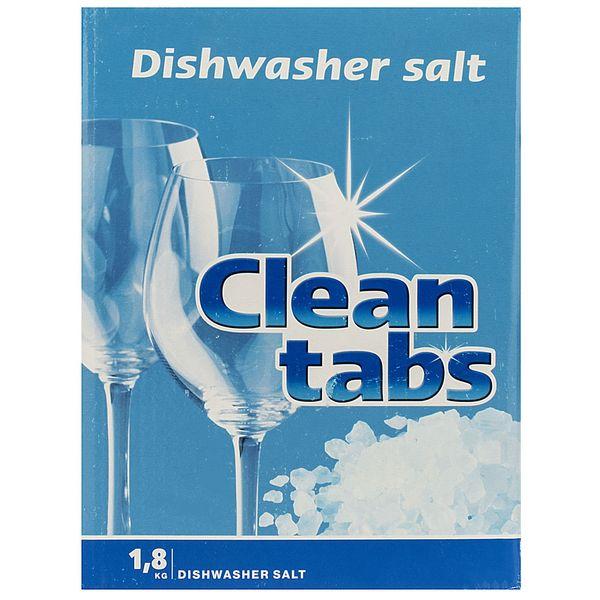 نمک ماشین ظرفشویی کلین تبز مقدار 1.8 کیلوگرمی