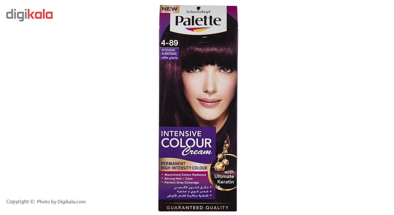 کیت رنگ موی پلت سری Intensive مدل Intensive Aubergine شماره 89-4 main 1 1