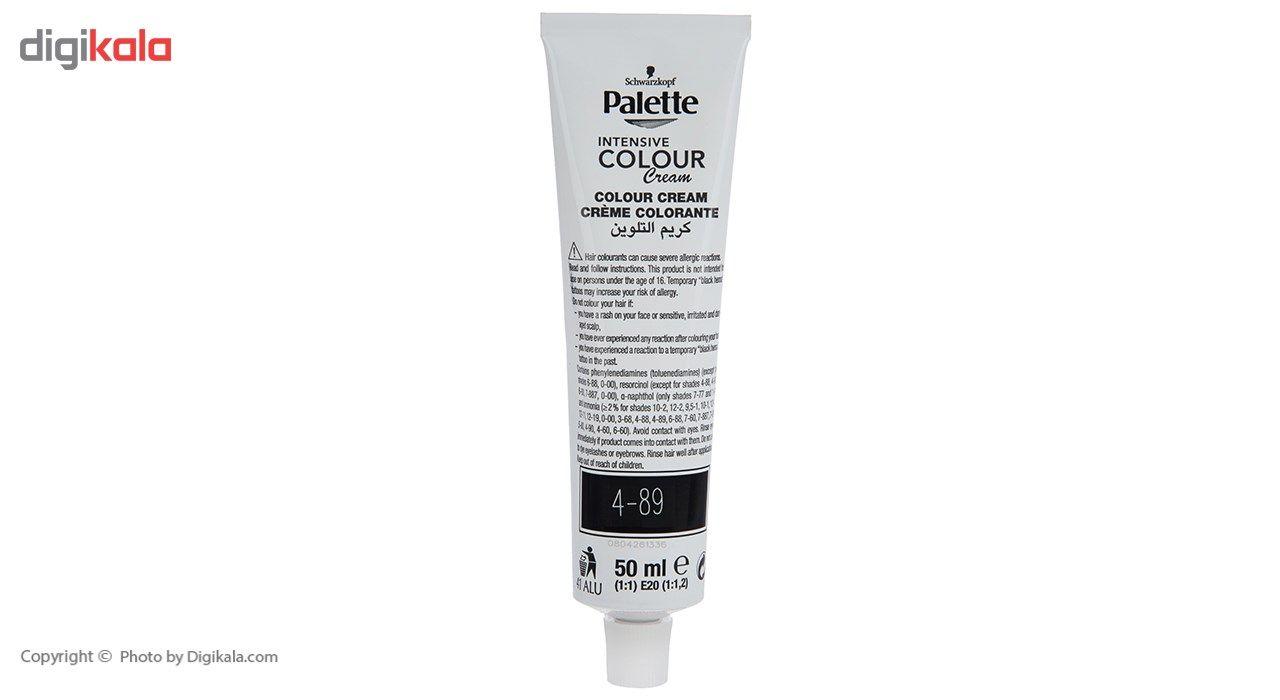 کیت رنگ موی پلت سری Intensive مدل Intensive Aubergine شماره 89-4 main 1 3