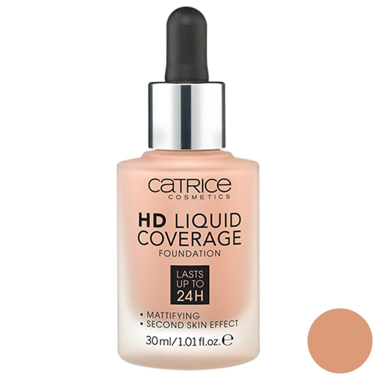 قیمت کرم پودر کاتریس سری HD مدل Liquid Coverage شماره 040