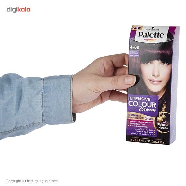 کیت رنگ موی پلت سری Intensive مدل Intensive Aubergine شماره 89-4 main 1 6