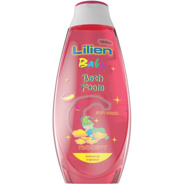 فوم حمام کودک لیلین مدل Raspberry  حجم 400 میلیلیتر