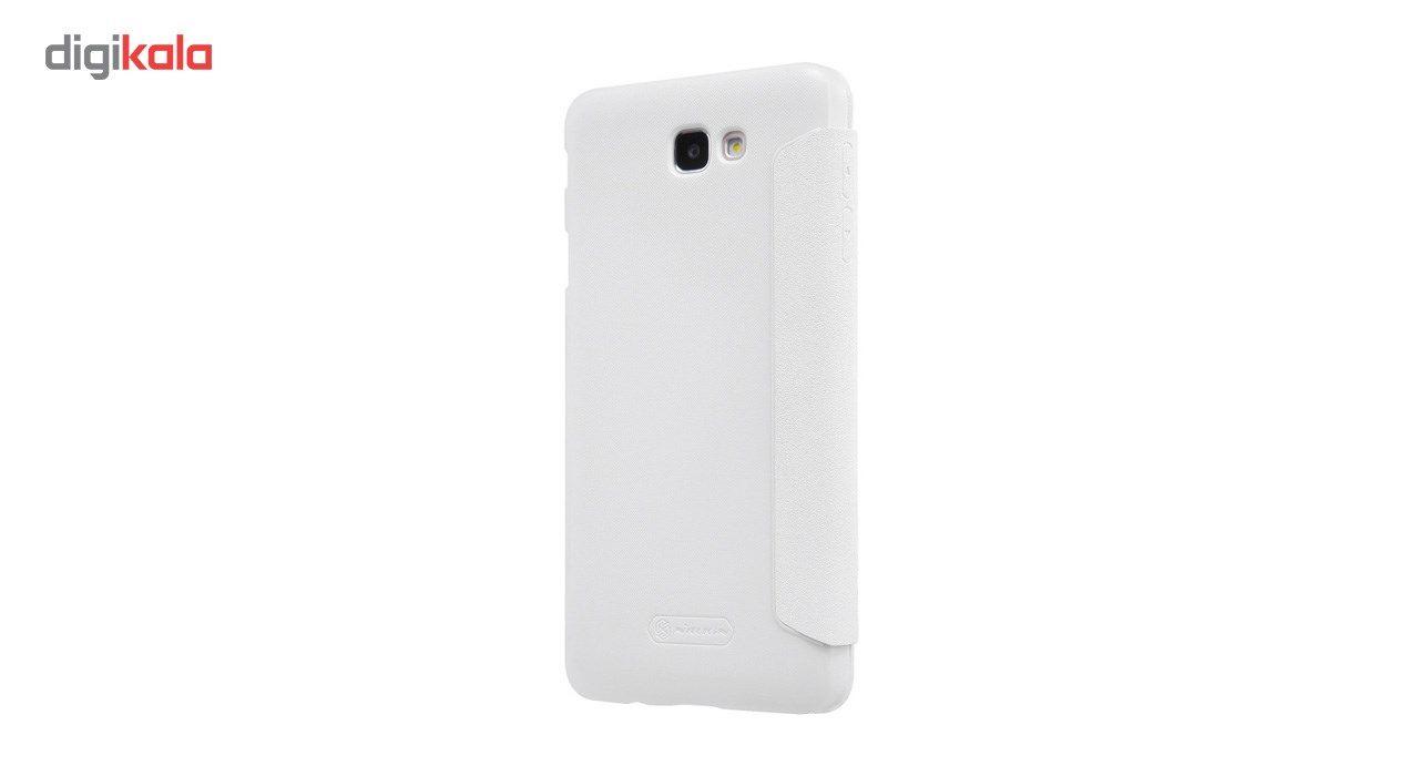 کیف کلاسوری نیلکین مدل New Leather Sparkle مناسب برای گوشی موبایل سامسونگ J5 Prime main 1 2