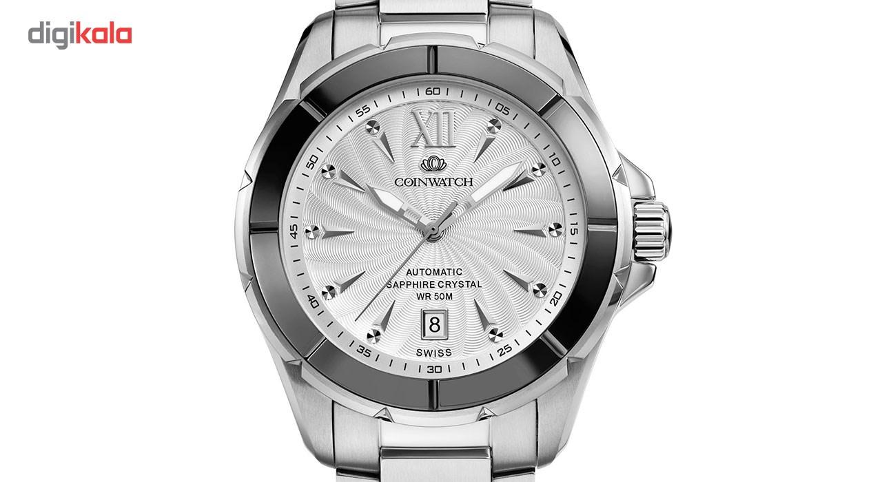 ساعت مچی عقربه ای مردانه کوین واچ مدل C120BWH
