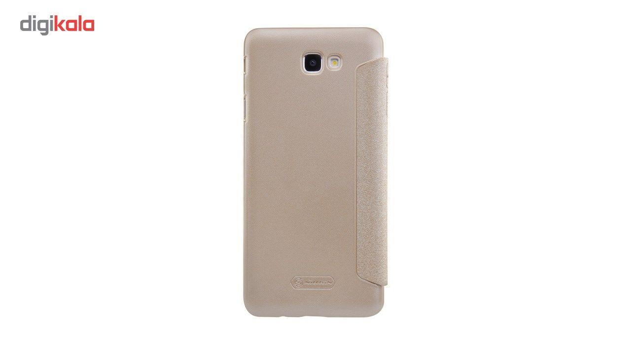 کیف کلاسوری نیلکین مدل New Leather Sparkle مناسب برای گوشی موبایل سامسونگ J5 Prime main 1 5