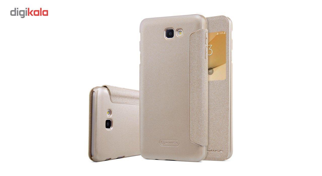 کیف کلاسوری نیلکین مدل New Leather Sparkle مناسب برای گوشی موبایل سامسونگ J5 Prime main 1 7