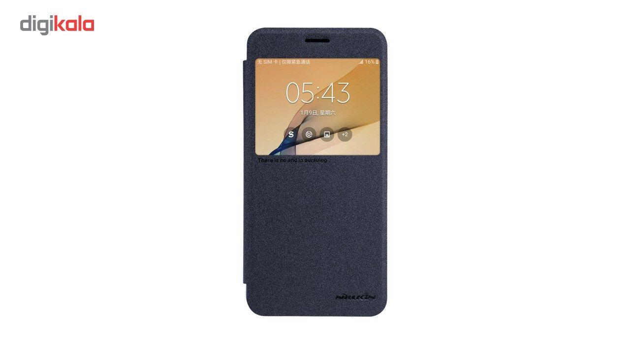 کیف کلاسوری نیلکین مدل New Leather Sparkle مناسب برای گوشی موبایل سامسونگ J5 Prime main 1 8