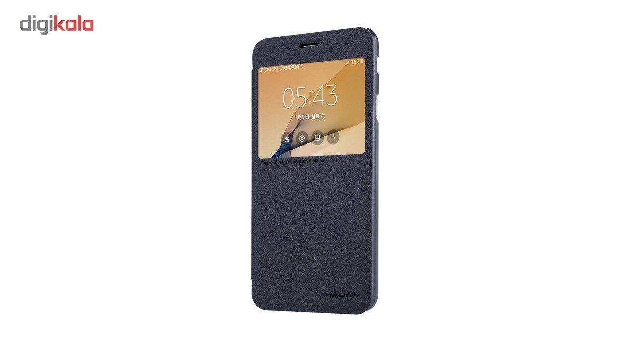 کیف کلاسوری نیلکین مدل New Leather Sparkle مناسب برای گوشی موبایل سامسونگ J5 Prime main 1 10
