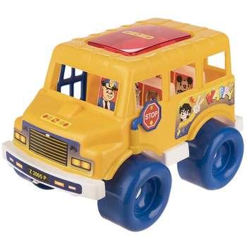 ماشین بازی زرین تویز مدل School Bus D1