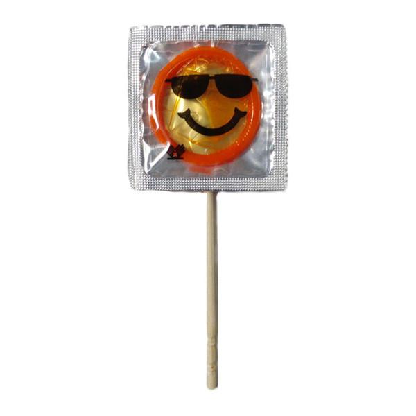 کاندوم ایموجی مدل Sunglasses Emoji Mask