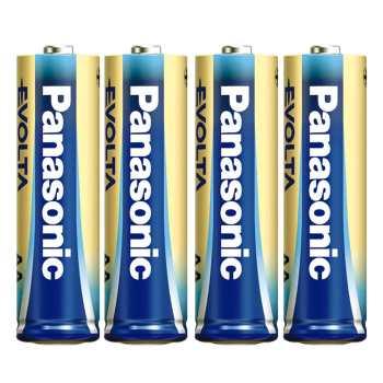 باتری قلمی پاناسونیک مدل High-Tech Evolta Alkaline بسته 4 عددی