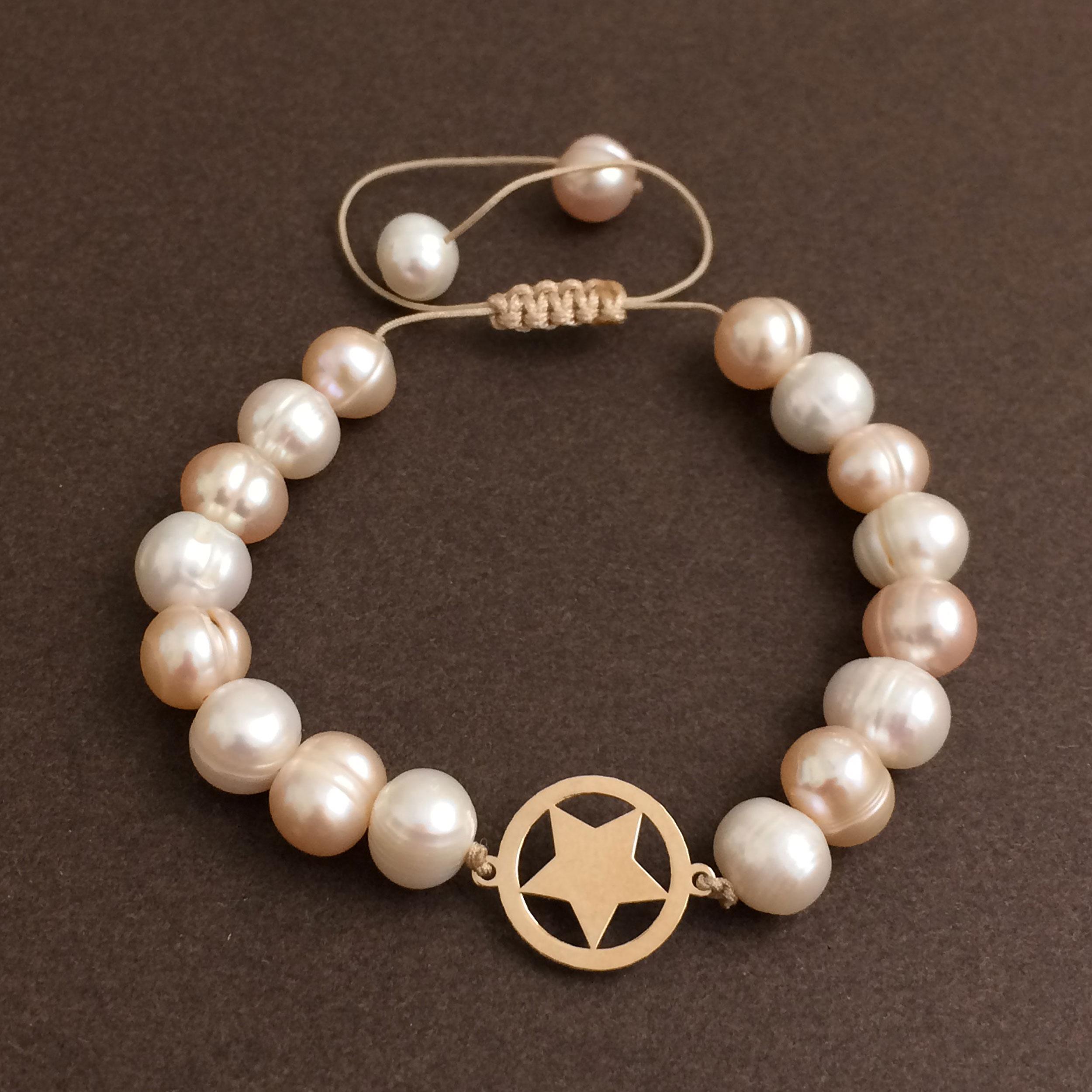 دستبند طلا 18 عیار زنانه الماسین آذر کد SETARE01 -  - 2