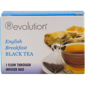 بسته چای کیسه ای روولوشن مدل English Breakfast