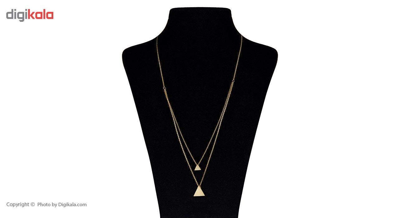 گردنبند طلا 18 عیار ماهک مدل MM0429 -  - 1