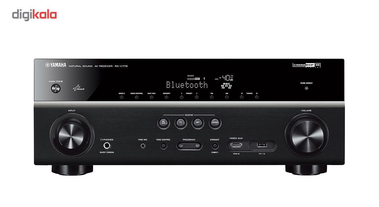 گیرنده صوتی و تصویری یاماها مدل RX-V779 main 1 1