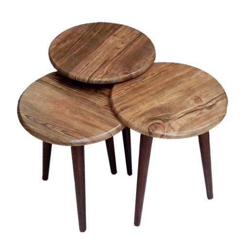 میز عسلی ورساچوب مدل 135 بسته 3 عددی