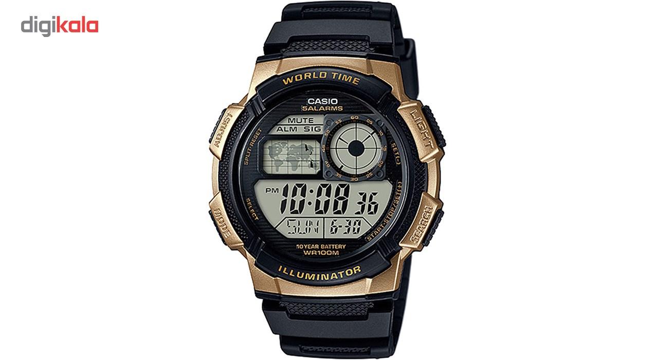 خرید ساعت مچی دیجیتال مردانه کاسیو مدل AE-1000W-1A3VDF | ساعت مچی