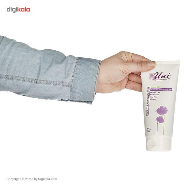 ژل لایه بردار صورت یونی لد سری Herbal Skin مدل All Skin حجم 200 میلی لیتر