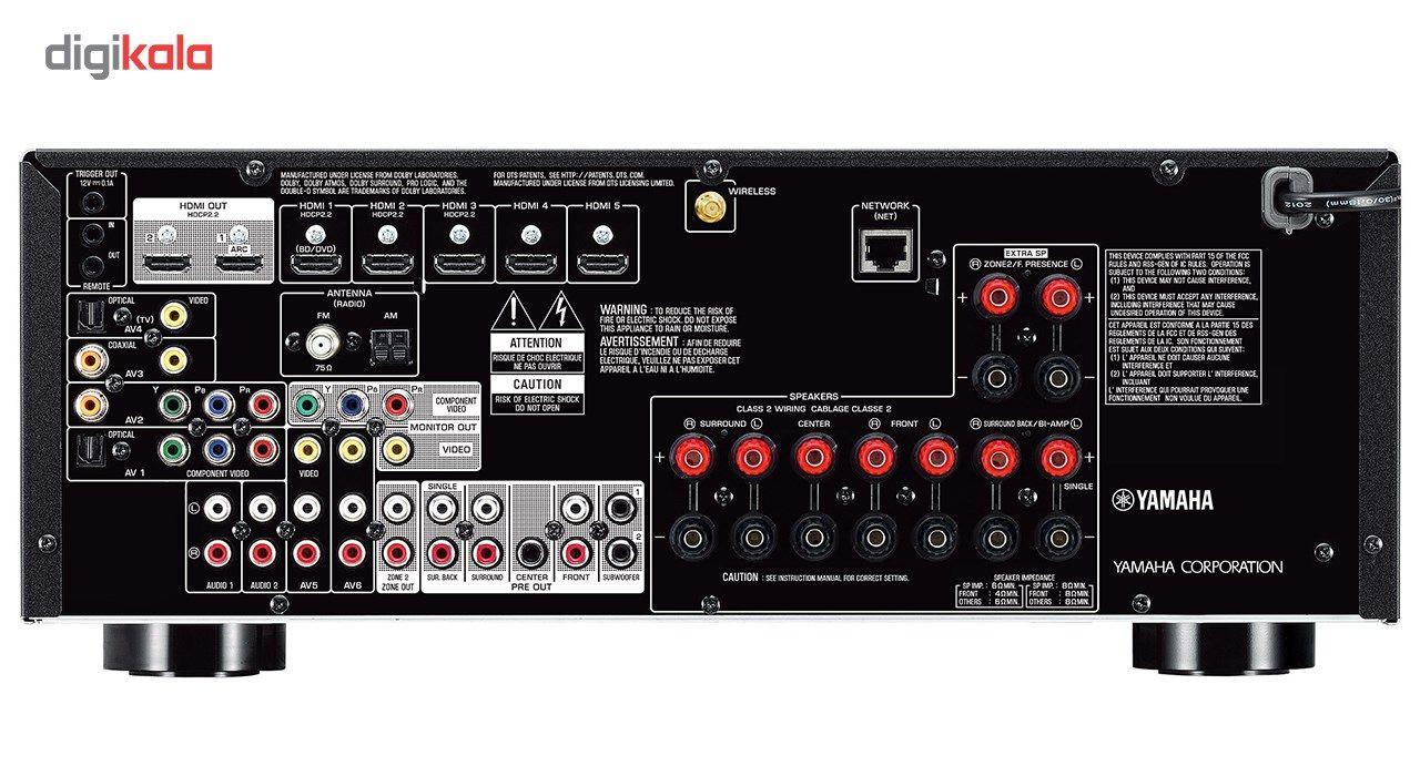 گیرنده صوتی و تصویری یاماها مدل RX-V779 main 1 3