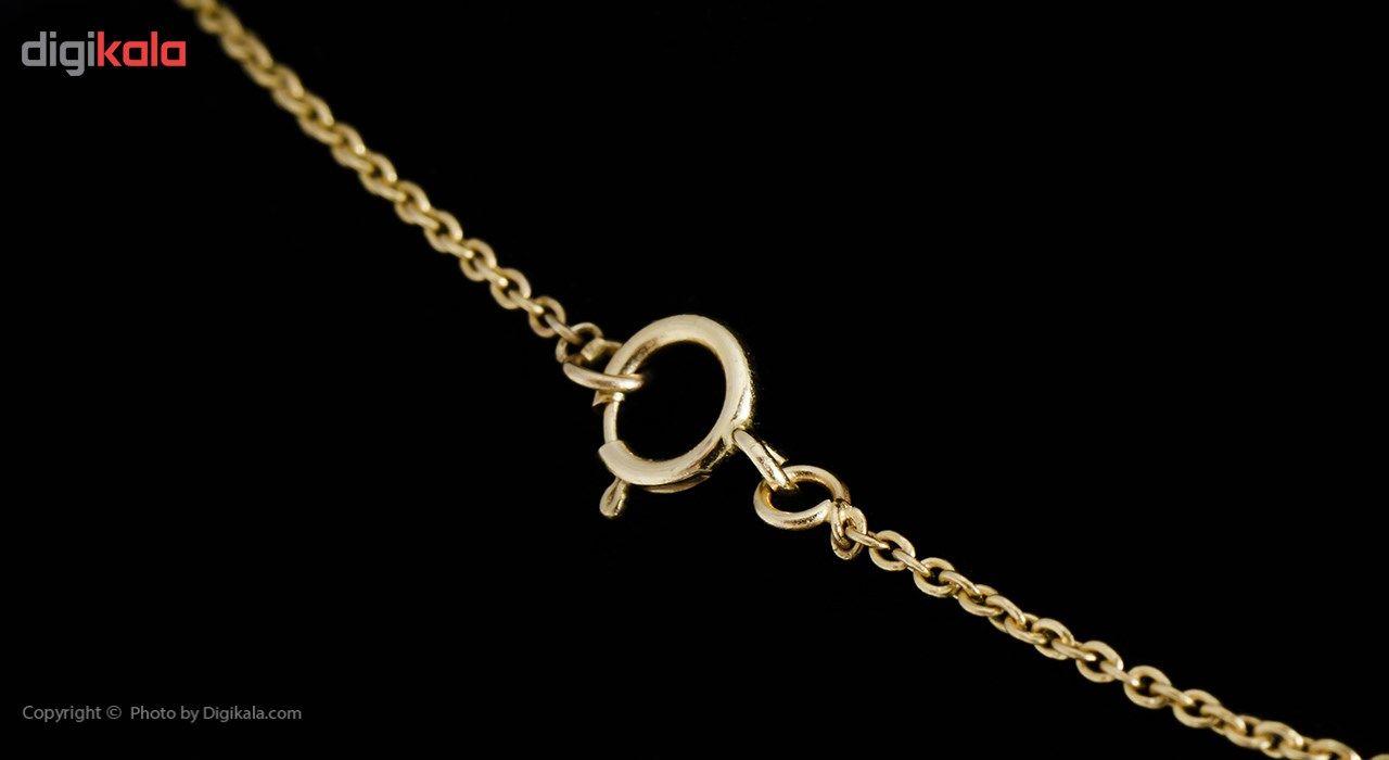گردنبند طلا 18 عیار ماهک مدل MM0429 -  - 4
