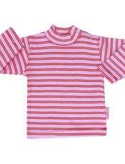 تی شرت دخترانه آدمک طرح راه راه کد 7-1443011 -  - 1