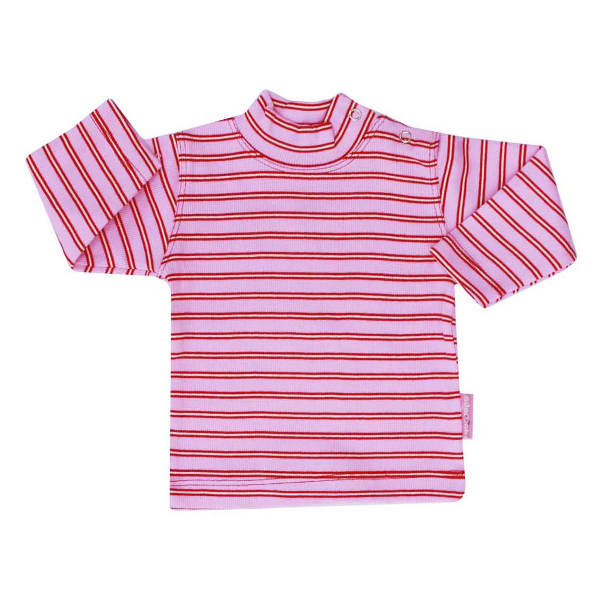 تی شرت دخترانه آدمک طرح راه راه کد 7-1443011 -  - 3