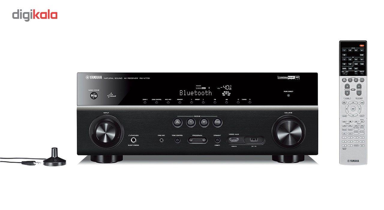 گیرنده صوتی و تصویری یاماها مدل RX-V779 main 1 4