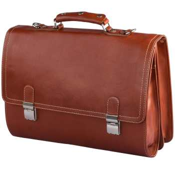 کیف اداری چرم طبیعی کهن چرم مدل L68