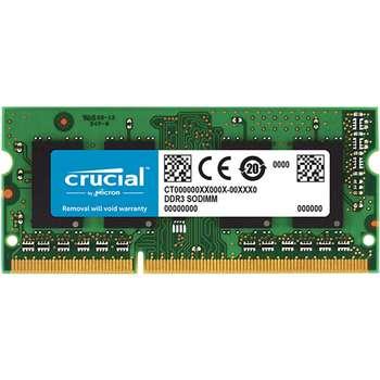 رم لپ تاپ کروشیال مدل DDR3L 1600MHz ظرفیت 8 گیگابایت