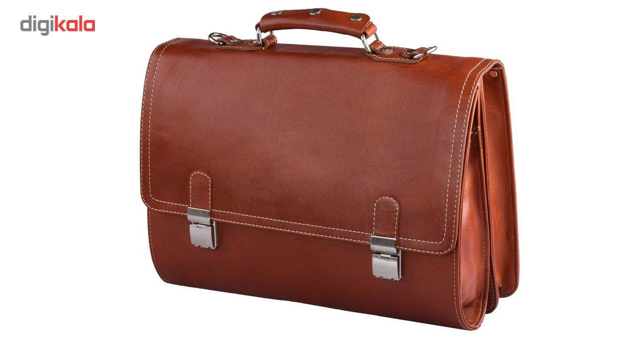 کیف اداری چرم طبیعی کهن چرم مدل L68 main 1 1