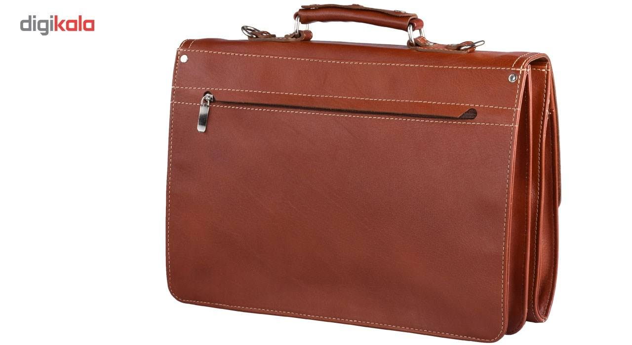 کیف اداری چرم طبیعی کهن چرم مدل L68 main 1 2