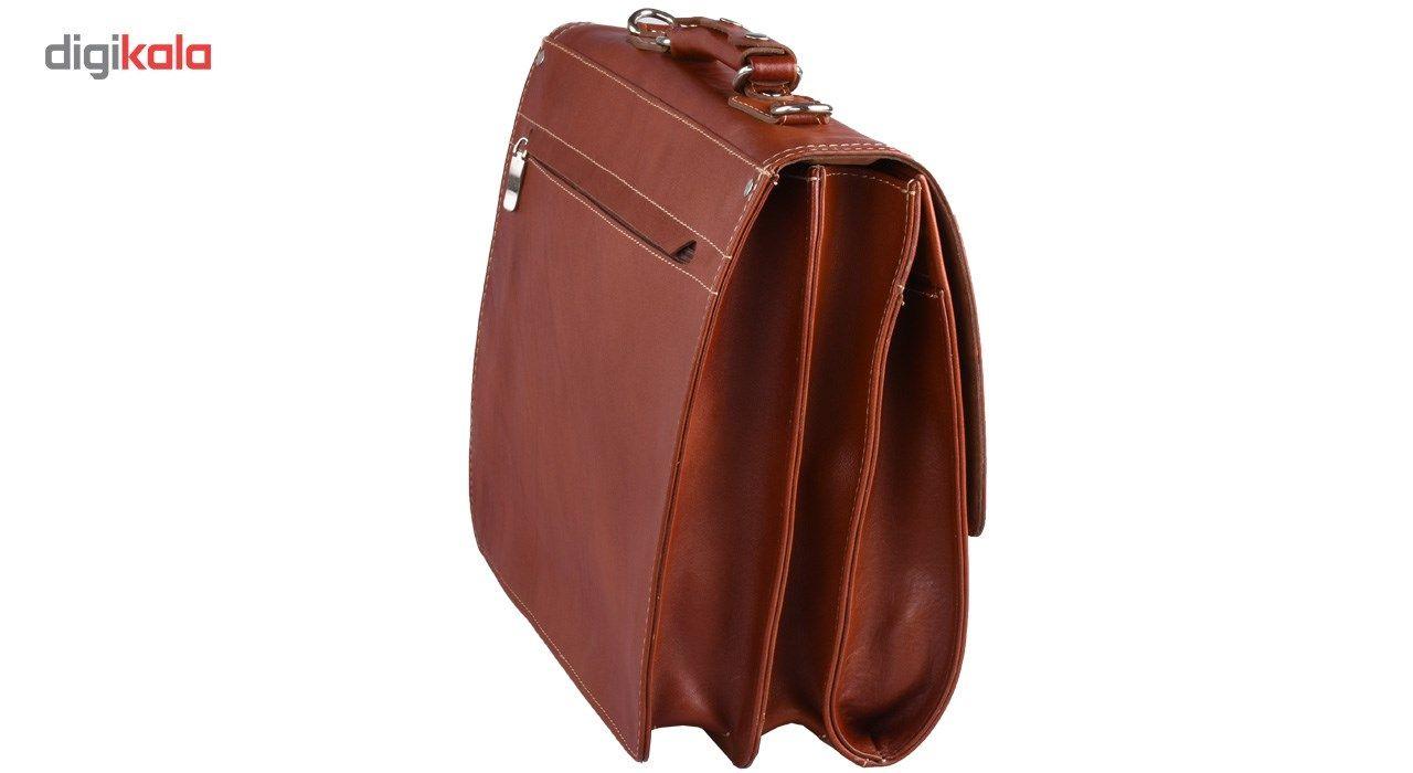 کیف اداری چرم طبیعی کهن چرم مدل L68 main 1 3