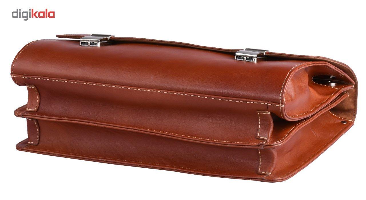 کیف اداری چرم طبیعی کهن چرم مدل L68 main 1 4