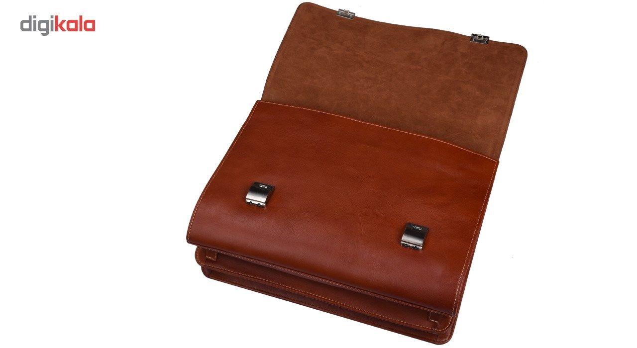 کیف اداری چرم طبیعی کهن چرم مدل L68 main 1 7