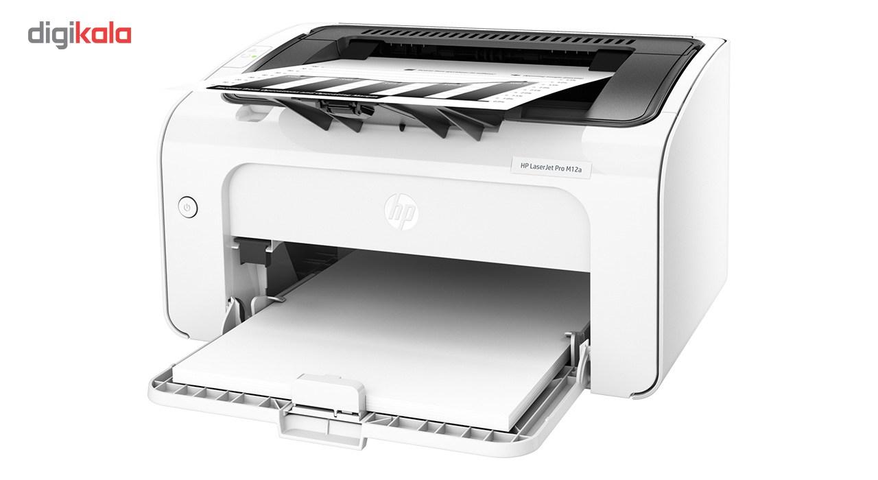 قیمت                      پرینتر لیزری اچ پی مدل LaserJet Pro M12a