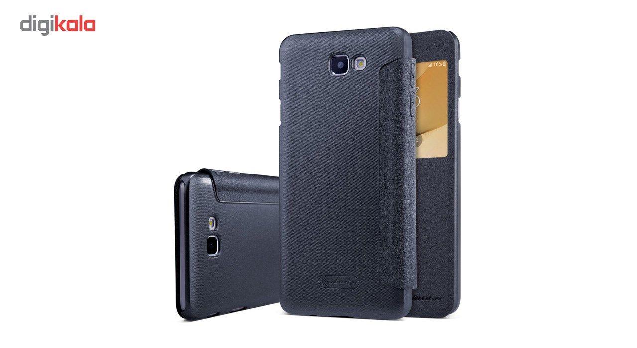 کیف کلاسوری نیلکین مدل New Leather Sparkle مناسب برای گوشی موبایل سامسونگ J5 Prime main 1 11